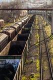 Товарные вагоны Стоковая Фотография
