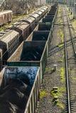 Товарные вагоны Стоковое Фото