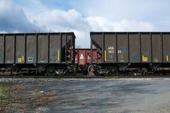 Товарные вагоны Стоковые Фото