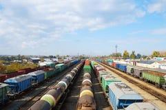 Товарные вагоны! Стоковая Фотография RF