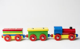 Товарный состав игрушки Стоковое фото RF