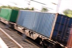 Товарный состав контейнера Стоковое Изображение RF