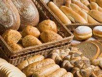 товары хлебопекарни ассортимента стоковые изображения rf