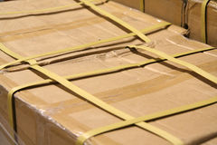 товар коробки Стоковые Фотографии RF