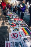 Товар протеста стоковое изображение rf