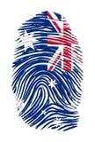 Тождественность Австралии иллюстрация штока