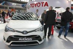 Тойота на выставке автомобиля Белграда Стоковая Фотография