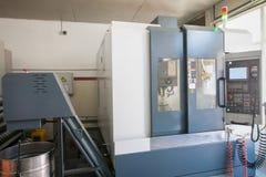 Токарный станок и оборудование мастерской стоковое изображение
