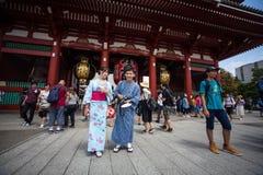 токио виска senso ji японии asakusa Стоковое Фото