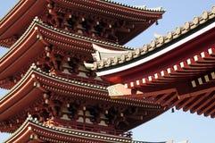 токио виска sensoji Стоковое Фото
