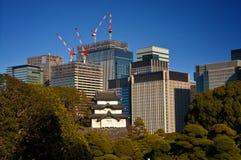 Токио - где традиция встречает современность стоковые фото