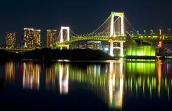 токио ночи Стоковая Фотография RF