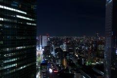 токио ночи стоковые изображения rf