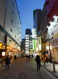 ТОКИО - 21-ОЕ НОЯБРЯ: Район 21-ое ноября 2013 в токио, j Akihabara Стоковое Фото