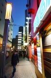 ТОКИО - 21-ОЕ НОЯБРЯ: Район 21-ое ноября 2013 в токио, j Akihabara Стоковое Изображение