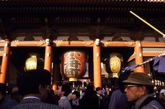 токио святыни asakusa Стоковая Фотография