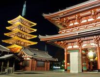 токио святыни sensoji Стоковое Фото