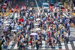 Токио скрещивания Shibuya стоковое изображение rf