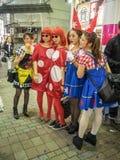 Токио хеллоуин Стоковое Изображение
