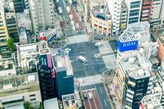 ТОКИО, ЯПОНИЯ - 15-ОЕ НОЯБРЯ: С над 35 миллионами людей, токио Стоковое Фото