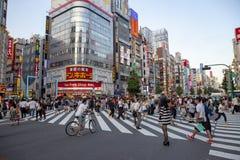 ТОКИО ЯПОНИЯ - 11-ОЕ СЕНТЯБРЯ SHINJUKU: landmar shinjuku важное Стоковые Изображения