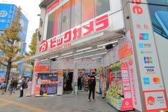 Токио Япония Akihbara магазина камеры Bic стоковое фото rf