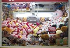 ТОКИО, ЯПОНИЯ CIRKA МАЙ 2016: Забавляйтесь торговый автомат игры крана на игровом центре в токио япония Стоковая Фотография