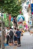 ТОКИО ЯПОНИЯ TANABATA KAMI-FUKUOKA Стоковая Фотография