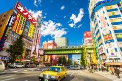 Токио, Akihabara, Япония Стоковые Фото