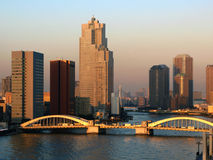 токио kachidoki японии 02 мостов Стоковые Изображения RF