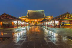 Токио - Sensoji-ji, висок в Asakusa, Японии Стоковое фото RF