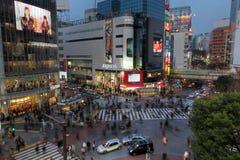 токио shibuya японии скрещивания Стоковые Фото