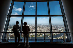 Токио Skytree палубы Tembo Стоковые Изображения RF