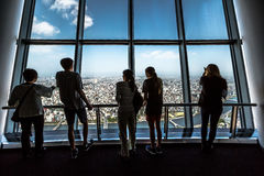 Токио Skytree палубы Tembo Стоковая Фотография
