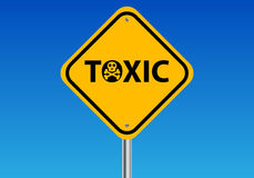 Токсический знак Стоковое Изображение RF