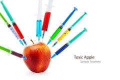Токсическое яблоко Стоковое Изображение