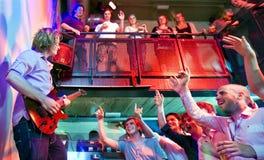 толпа идя одичал Стоковые Фото