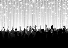 Толпа на партии Стоковые Фотографии RF