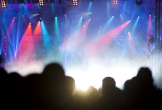 Толпа на согласии Стоковые Фото