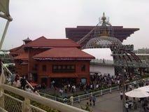 толпа на экспо 2010 мира Китая стоковые фотографии rf