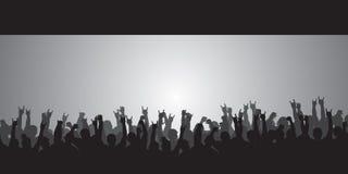 толпа огромная Стоковые Фото