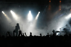толпа согласия Стоковые Фотографии RF