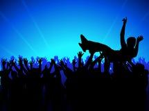 толпа 04 Стоковая Фотография RF