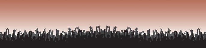 толпа 22 Стоковая Фотография