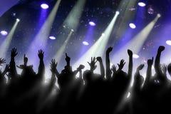 толпа Стоковые Изображения RF