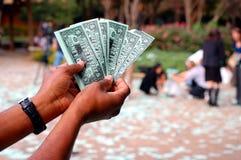 толпа lsu бюджетного сокращения внезапная Стоковые Фото