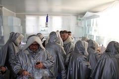 Толпить бар льда Стоковые Фото