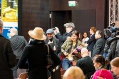 Толпить Berlinale 2018 Стоковое Изображение