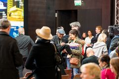 Толпить Berlinale 2018 Стоковая Фотография RF