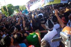 толпит празднество Стоковое Изображение